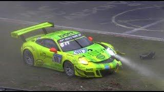 [N24h] Highlights, Action, Crash | 24H QUALI RENNEN Nürburgring Nordschleife