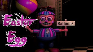 Balloon Girl - Easter Egg - FNAF 2