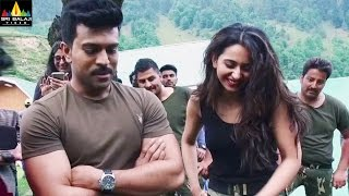 Dhruva Making Video Choosa Choosa Song Making Ram Charan Rakul Preet Sri Balaji Video