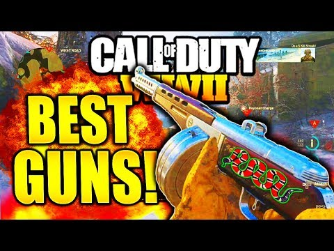 BEST GUNS AFTER NEW PATCH! CALL OF DUTY WW2 BEST WEAPONS AFTER BUFFS AND NERFS PATCH COD WW2!