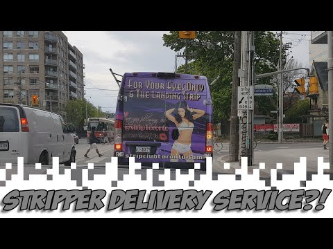 Stripper Delivery Service?! (Video Diary)