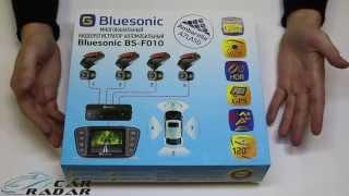 Bluesonic BS F010. Видеорегистратор с 4 камерами.