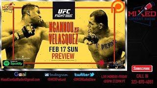 UFC on ESPN: Ngannou vs Velasquez PREVIEW & PREDICTIONS