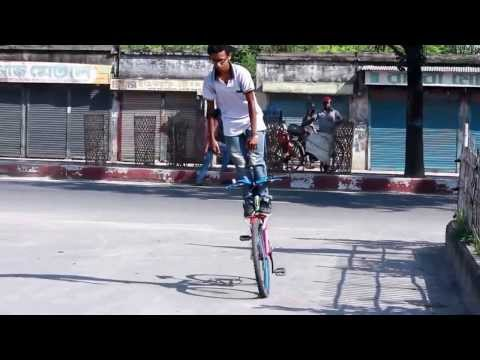 This Moment Banglaboys Own It Bangladesh Boys Bike Stunt 2014...