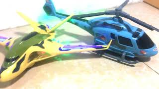 Toy Airplanes & Jets for Kids Review   Aibus 380, Helicopter, Fighting Jet Toys