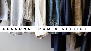 WARDROBE STYLING CAREER: WHAT I WISH I KNEW