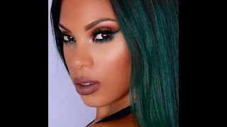 Emerald Green Liner Makeup Tutorial