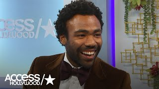 Golden Globes: Donald Glover Reacts To 'Atlanta' Win | Access Hollywood