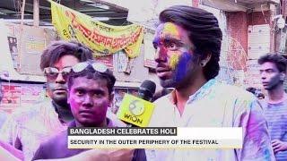 Bangladesh celebrates Holi