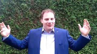 Dr. Sid Lukkassen zegt 'DANK U WEL!' voor het doneren