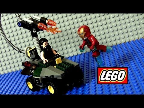 LEGO Superheroes Iron Man The Mandarin Marvel The Avengers Iron Man 3 Walt Disney 76008 Juguete