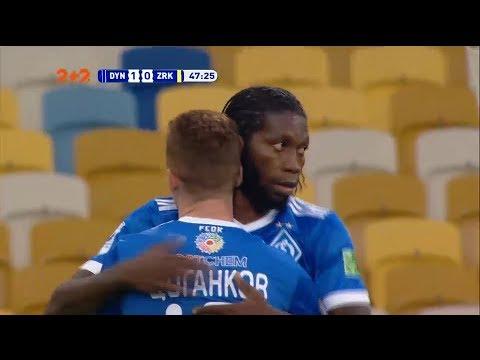 Динамо - Зирка - 1:0. Гол: Мбокани (48')