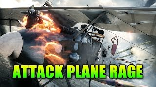 Attack Plane Destroys All!! | Battlefield 1 Pilot Gameplay