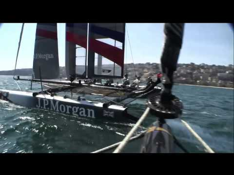Challenging conditions in Naples but J.P.Morgan BAR stay on top on day one