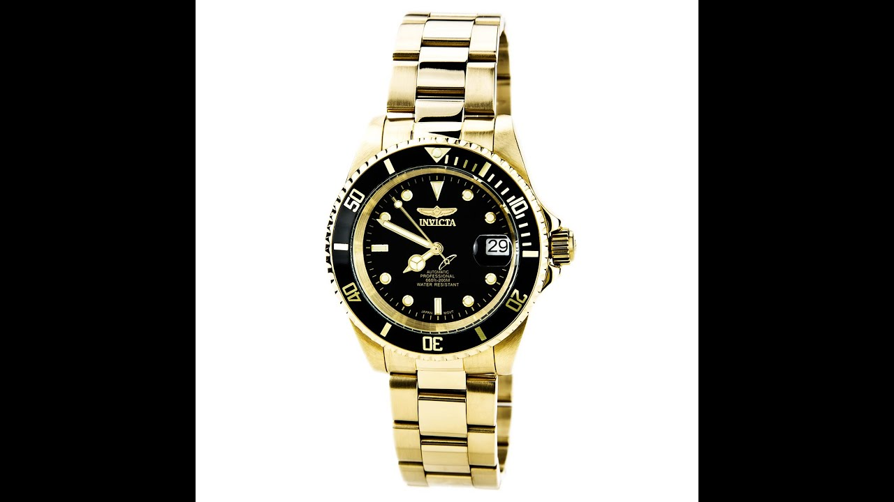 Buy Invicta Men's Pro Diver Collection Automatic Watch, Silver-Tone/Black Dial/Half Open Back and other Wrist Watches at modestokeetonl4jflm.gq Our wide selection is eligible for free shipping and free returns.
