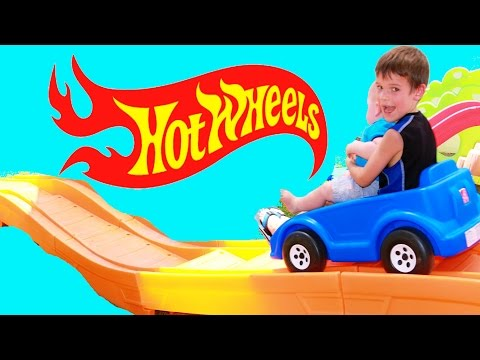 ROLLER COASTER Step2 Extreme Rollercoaster Family Fun Summer Games Car Races