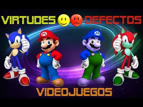 Virtudes y Defectos en los Videojuegos