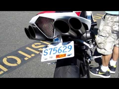 07-08 Yamaha R1 Toce Performance Slip-on Exhaust. LuiMoto Seat....