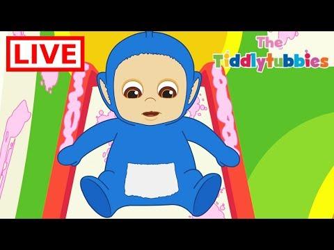 🔴 LIVE Teletubbies ★ NEW Tiddlytubbies LIVE Cartoons ★ New Cartoon Episodes 1-3 ★ Cartoons for Kids