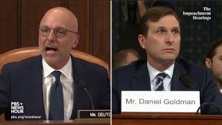WATCH: Rep. Ted Deutch's full questioning of Democratic counsel | Trump impeachment hearings