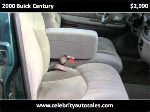 2000 Buick Century available from Celebrity Auto & RV
