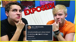 STALKING YOUR INDIRECT TWEETS | Sam and Colby