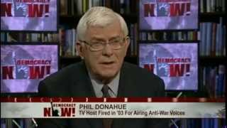 Phil Donahue on His 2003 Firing From MSNBC, When Liberal Network Couldn