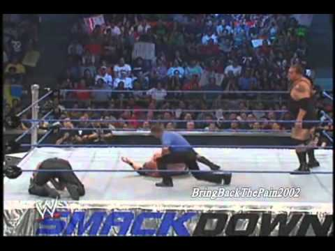 No 1 Contender Match, Brock Lesnar Vs Big Show Vs Taker Sd! 8 28 2012 video