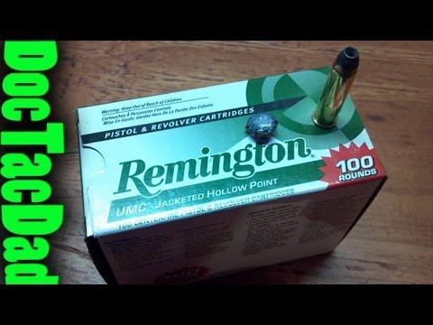 Hog's Head Ballistics - Remington UMC 125gr .357 Magnumn