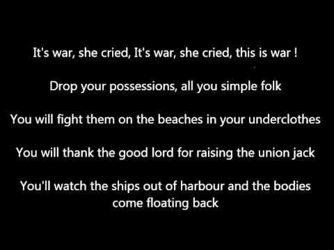 The The - Armageddon Days (Are Here Again) Lyrics