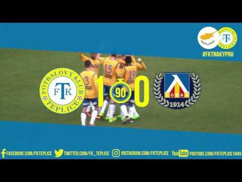 Soustředění na Kypru obrazem - sestřih utkání Teplice - Levski (5.2.2017)