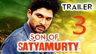 Son of Satyamurthy 3_ Hits trailer 2018 Allu Arjun, Anu Emmanuel,  Hindi Dubbed 720p