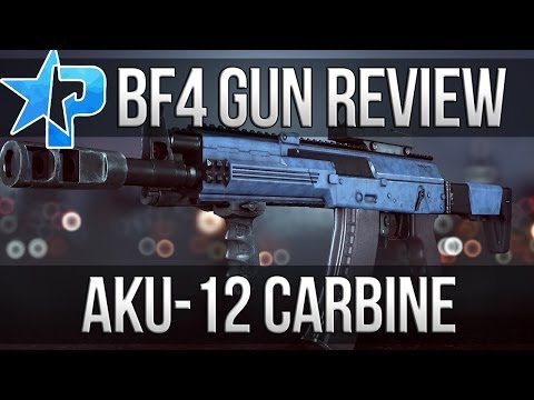 Battlefield 4 Gun Review - AKU-12 Carbine (BF4 Multiplayer PS4 AKU12 Gameplay 1080p )