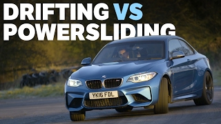 The Differences Between Drifting And Powersliding