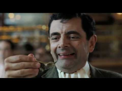 Mr. Bean at a Restaurant