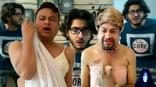 bakchod roast Deepak kalal full carryminati by liv