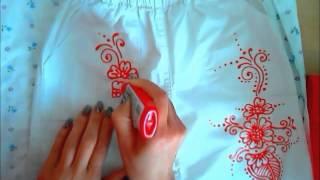 Чем рисовать на ткани