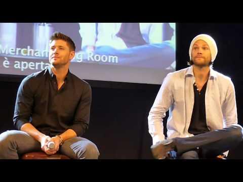 Jensen Ackles and Jared Padalecki panel at #JIBCon 2014 (Part 1)