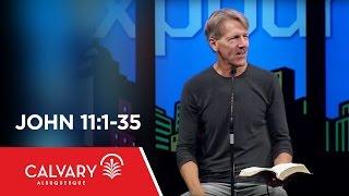 download lagu John 11:1-35 - Skip Heitzig gratis