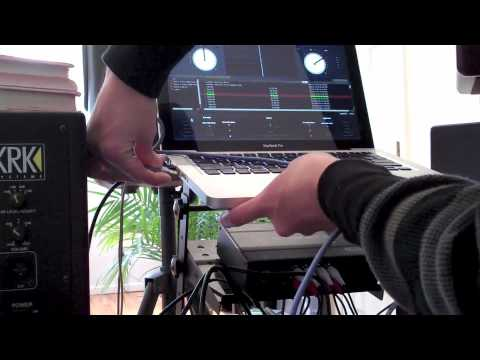CDJ-2000 MIDI to Laptop Wiring