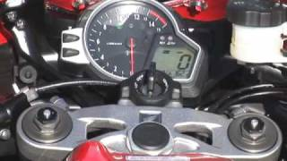 First Look: 2008 Honda CBR1000RR Motorcycle Review