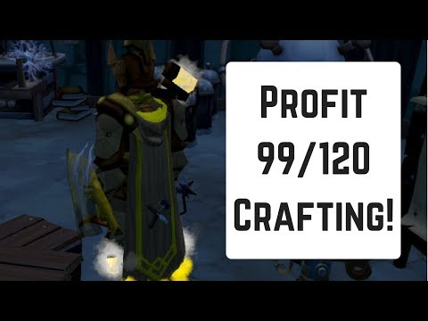 99/120 Crafting Free & Profit Guide | 2017 Runescape