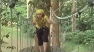 Trish Stratus in Bali Treetop Adventure Park (Stratusphere)