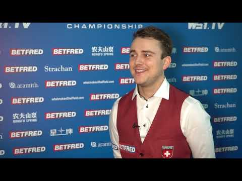 Could Ursenbacher Be The First Swiss Player To Reach The Crucible?! | Betfred World Championship