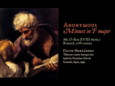 Anonymous - Baroque Minuet