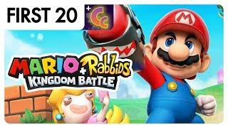Mario + Rabbids Kingdom Battle • First20 (w/ Chuggaaconroy)