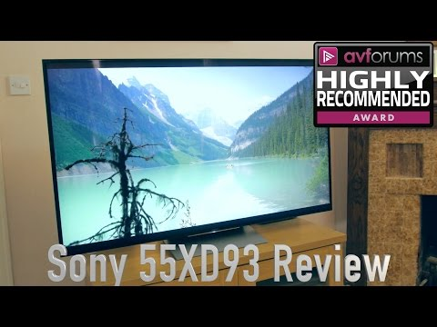 Sony XD93 (KD-55XD9305) 4K HDR TV Review