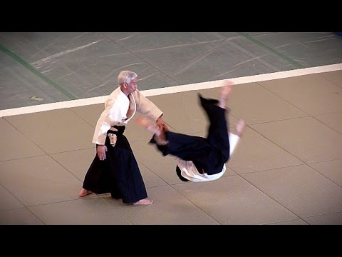 Aikido - Ueshiba Moriteru Doshu - 51st All Japan Aikido Demonstration 2013 Image 1