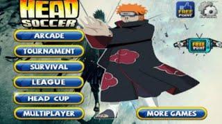 แจก+รีวิว Game Head Soccer Mod Naruto