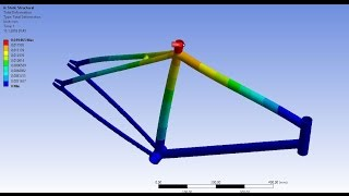 Ansys Workbench Bicycle Structural Analysis
